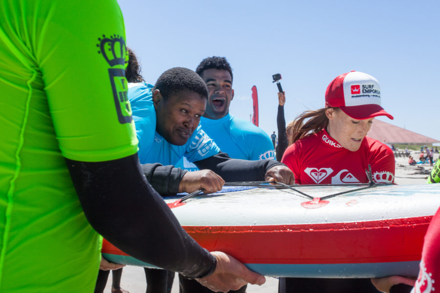teaching adaptive surfing
