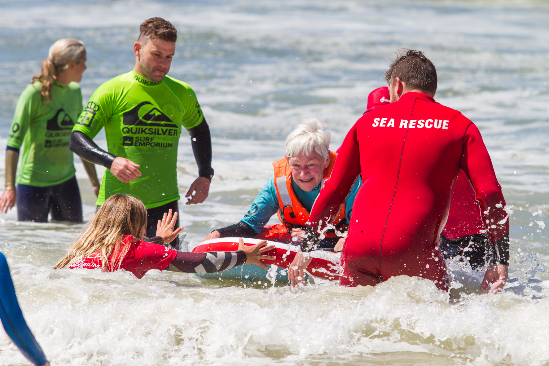 Become a Participant in a surf therapy and adaptive surfing programme